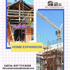 If you are looking for additional space in your house our team of Home expansion in GTA at HKL construction will be the right choice for you whether you want an extra bedroom, Call at now. Extra Bedroom, Gta, The Expanse, Utility Pole, Construction, Space, House, Building, Floor Space