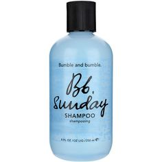"""BUMBLE AND BUMBLE """"Sunday"""" shampoo (1.120 RUB) ❤ liked on Polyvore featuring beauty products, haircare, hair shampoo, beauty, makeup, fillers, hair, backgrounds, bumble and bumble and dry hair shampoo"""