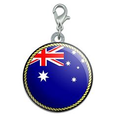 Flag of Australia Stainless Steel Pet Dog ID Tag *** Want to know more, click on the image. Dog Id Tags, Pet Dogs, Flag, Dogs, Science