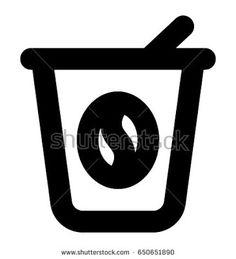ผลการค้นหารูปภาพสำหรับ vector coffee cup