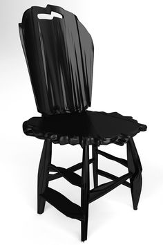 chairs made from noise: noize chair by estudio guto requena