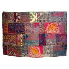 "Beautiful ""patchwork"" rug"