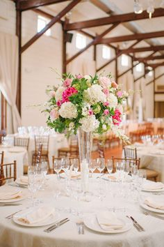 tall centerpiece | Candi Coffman #wedding
