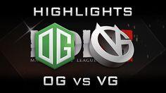 OG vs VG MDL 2016 Highlights [Game 1] Dota 2