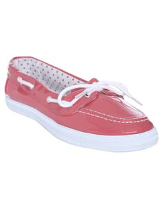 Patent Leather Boat Shoe - Flats
