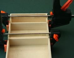 Use simple hand tools to build a basic dolls house scale cupboard or armoire with opening doors.: Fit Shelves Inside a Dollhouse Miniature Cupboard or Armoire