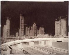 Martin Becka, Dubai 2008, négatifs papier cirés, waxed paper negatives 40x50 cm