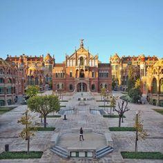 Hospital de Sant Pau #Modernisme  #Barcelona