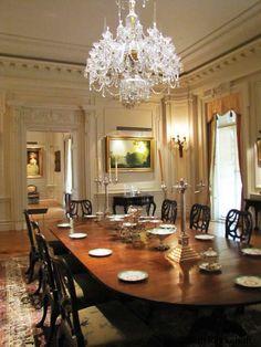Dining Room, The Huntington, San Marino, California