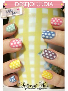 Cute polka-dots.