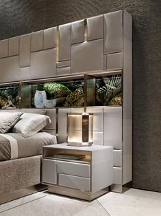 Home Decor Bedroom and home interior bedroom Modern Luxury Bedroom, Luxury Bedroom Design, Modern Master Bedroom, Bedroom Bed Design, Bedroom Furniture Design, Stylish Bedroom, Home Room Design, Bed Furniture, Luxurious Bedrooms