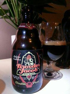 Beer, Broeder Jacob~ Dubbel port 9,0%vol 33cl