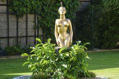 Na návštěvě v zahradě plné úžasných plastik :-)