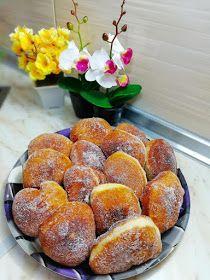 ΜΑΓΕΙΡΙΚΗ ΚΑΙ ΣΥΝΤΑΓΕΣ 2: Λουκουμάδες οι Θεικοί !!!! Doughnut, Hamburger, Sausage, Muffin, Bread, Breakfast, Desserts, Food, Morning Coffee