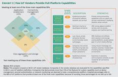 A few Vendors Provide full IoT Platform Capabilities - BCG