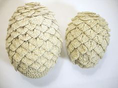 (FREE Pattern) Crochet These Game Of Thrones Dragon Eggs