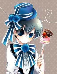 Cake , Ciel Phantomhive , Black Bulter , Kuroshitsuji