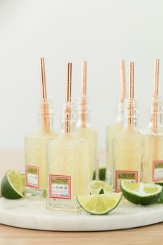 Charming Way to Serve Mini Margaritas! A Charming Way to Serve Mini MargaritasA Charming Way to Serve Mini Margaritas Summer Cocktails, Cocktail Drinks, Cocktail Recipes, Alcoholic Drinks, Beverages, Vodka Drinks, Cocktail Ideas, Beer Margaritas, Dessert