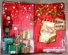 Art Journal: Merry Christmas
