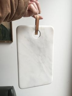 White Marble cutting board by SantaPacienciaDesign on Etsy