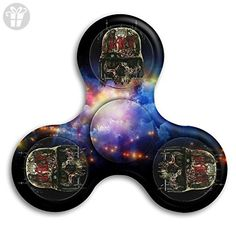 Slayer Skull Cool Tri-Spinner Hand Fidget Stress Reducer Finger Toy Gyro For Kids & Adults - Fidget spinner (*Amazon Partner-Link)