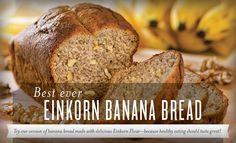 Young Living Essential Oils: Best Ever Einkorn Banana Bread Recipe