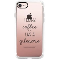 Drink Coffee like a Gilmore - Gilmore Girls - Coffee Lover - iPhone 7 Case, iPhone 7 Plus Case, iPhone 7 Cover, iPhone 7 Plus Cover