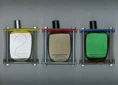 Comme des Garcons Perfume Architecture - special Limited Edition packaging of 3 best-selling classics.