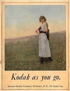 1921, Kodak girl.