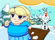Frozen Elsa Field Loss Weight
