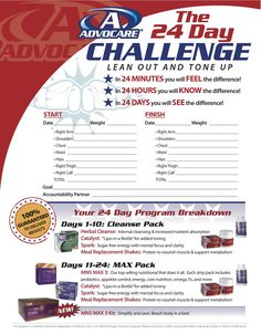 Advocare - check it out!