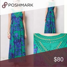 Anthropologie maxi dress size 6 Anthropologie maxi dress size 6 Anthropologie Dresses Maxi