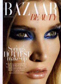 Harper's Bazaar editorial - makeup by Charlotte Tilbury