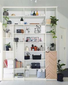 24 Creative and Useful Ikea Office Furniture Hacks Ikea, Ikea Office Furniture, Home, Furniture Hacks, Office Furniture Layout, Home Office Design, Cozy Home Office, Home Decor, Ikea Billy Hack