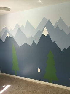 Pic only: Mountain Wall Mural