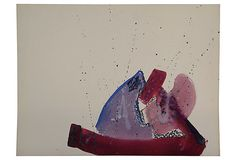 Abstract in Purples on OneKingsLane.com