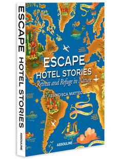"Recommended Reading• • • Escape Hotel Stories: Retreat and Refuge in Nature, by Francisca Mattéoli Assouline publishes thoughtfully designed photography books that are escapist in the best sense. In its latest travel title, ""Escape Hotel Stories: Retreat and Refuge in Nature,"" Francisca Mattéoli profiles a range of splendidly isolated resorts set in pristine natural environments.  (You can read the full blog post on this book here.)"