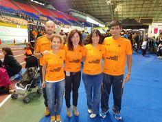 De izquierda a derecha: Ricard, Rosa, Idoia, Marcela y Nicolás.