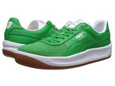 Cheap Puma Gv Special Basic Sport Fern Green Whisper White Compare by tanukatoe Green Puma Shoes, Puma Tennis Shoes, Ankle Shoes, Men's Shoes, Cheap Sneakers, Men's Sneakers, Shoe Sites, Everyday Shoes, Basketball Sneakers