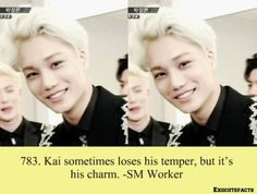 EXO Facts ♥ When does he NOT have his charm on? Tao Exo, Chanyeol, Kyungsoo, Exo Facts, Exo Memes, Kim Jong In, Jyj, My Escape, Shinee
