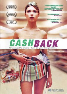 An art student, suffering from insomnia, takes an overnight job at a supermarket -- and discovers he can stop time. A feature length expansion of the Academy Award nominated short film of the same name. Read the review at Variety: http://variety.com/2006/film/markets-festivals/cashback-1200516015/