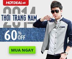 Banner branding for Men fashion