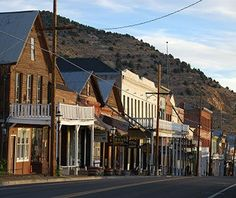America's Coolest Desert Towns: Virginia City, Nevada listed on the National Register of Historic Places thanks to its wooden boardwalks, dusty graveyards, classic saloons, and buildings like Piper's Opera House. Or time your trip to fall and catch the kooky camel and ostrich races.