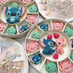 Stitch Macarons