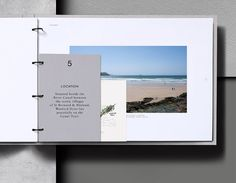 Portfolio inspiration. Love the variously-sized cards. Wenford Dries.