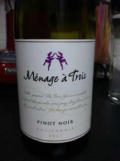 Pinot Noir One of my favorites!!!!