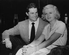 Angela Lansbury and husband Peter Shaw--she has the sweetest face!