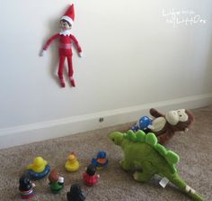 Life With My Littles: 32 Best Elf on the Shelf Ideas for Toddlers
