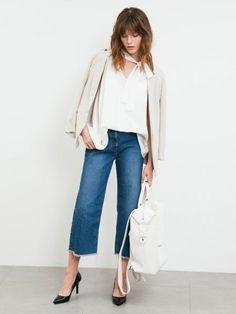 クロップドデニムパンツ(デニムパンツ)|FRAY I.D(フレイアイディー)|ファッション通販 - ファッションウォーカー
