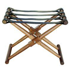 Matthiessen Luggage Rack | From a unique collection of antique and modern luggage racks at https://www.1stdibs.com/furniture/more-furniture-collectibles/luggage-racks/